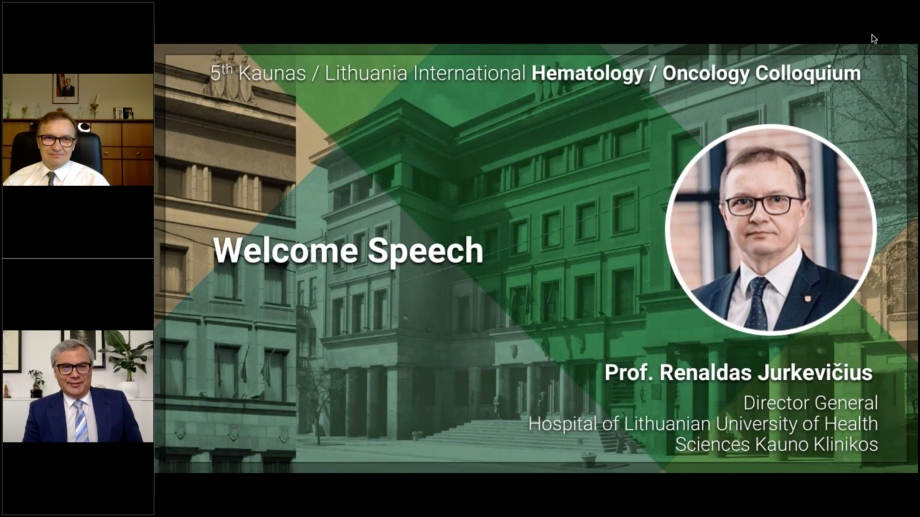 5th Kaunas / Lithuania International Hematology / Oncology Colloquium