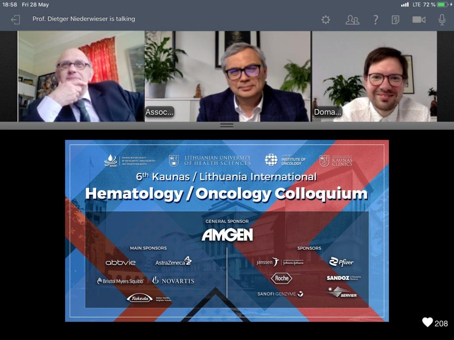 6th Kaunas / Lithuania International Hematology / Oncology Colloquium
