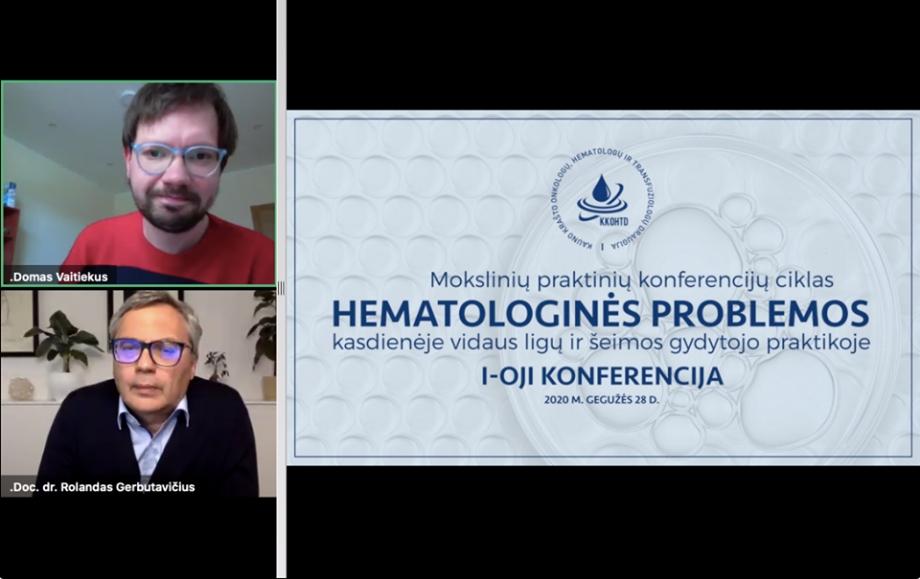 Hematologinės problemos kasdienėje vidaus ligų ir šeimos gydytojo praktikoje  |  I-OJI KONFERENCIJA