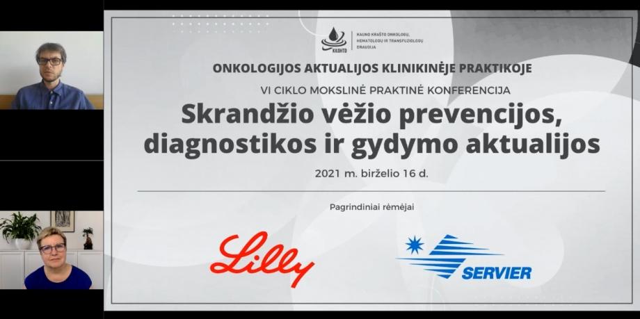 """Onkologijos aktualijos klinikinėje praktikoje   VI KONFERENCIJA """"Skrandžio vėžio prevencijos, diagnostikos ir gydymo aktualijos"""""""