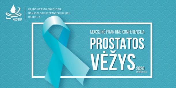 Prostatos vėžys 2020